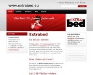 Bild Webseite Extrabed München