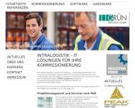 Bild Webseite GRÜN Identisys Aachen