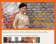 Bild traditionelle chinesische Massage, Wellnessmassage