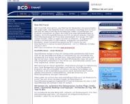 Website BCD Travel