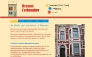 Bild Webseite Bremer Farbzauber Bremen