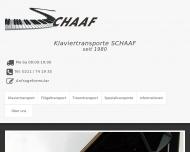 Bild Klaviertransporte SCHAAF