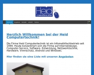 Website Heid Computertechnik