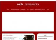Bild Webseite naiila - cartographics Berlin