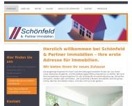 Bild Webseite Schönfeld & Partner Immobilien Tornesch