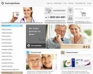Website Versand Apotheke