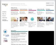 Bild Webseite Ingeus Nürnberg