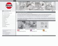 Bild Webseite Rhein-Nadel Automation Holding Aachen
