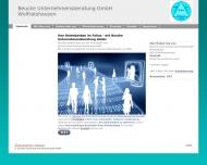 Website Beucke Unternehmensberatung