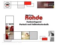 Website Günther Rohde Objekt & Wohnraumdekor e.K