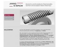 Bild JANNIG & REPKOW – Deutsche und Europäische Patentanwälte, Berlin und Augsburg