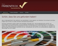 Website Firma Farbenfroh