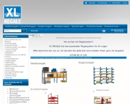 Website XL REGALE MAVERLO Industriedienstleistung