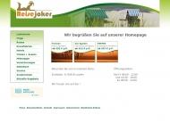 Bild Webseite TMG Der Reisejoker Wuppertal