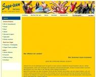 Bild Webseite Saga Team Reisen Wuppertal