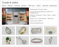 Website Traub & Sohn