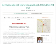 Website Schlüsseldienst Mönchengladbach Pohl
