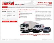 Website Autovermietung-Jahnel
