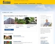 Website Postbank Immobilien