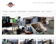 Website Schrotthandel M. Schneider u. Sohn