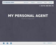 Bild Webseite MY PERSONAL Köln