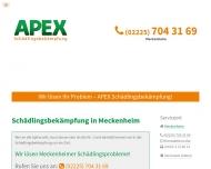 Bild Webseite APEX Meckenheim