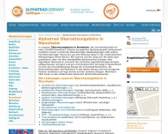 Website ALPHATRAD Mannheim Übersetzungsbüro