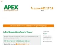 Bild Webseite  Werne