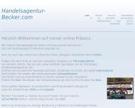 Bild Webseite Becker Handel Düsseldorf
