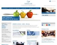 Website KRIEGER Wirtschaftsprüfer Steuerberater Rechtsanwälte
