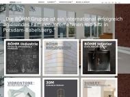 Website BÖHM Gruppe