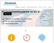 Bild Özdemir Transport und Fahrdienst