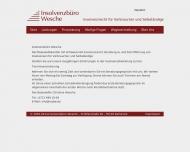 Website Insolvenzbüro Wesche