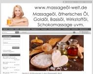 Bild Massageöl