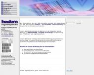 Bild Webseite hadem logistiksysteme Netphen