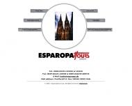 Bild Webseite ESPAROPA Tours Köln