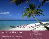 Bild Webseite Reisebüro Schneider Köln