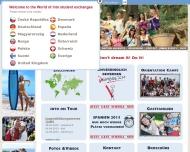 Bild Webseite INTO Schüleraustausch Köln