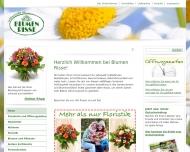 Bild Webseite Blumen Risse Köln