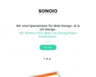 Bild Webseite SONOIO München