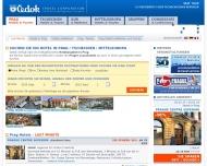 Bild Webseite CEDOK-REISEN Frankfurt