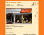Bild Geigenbau Rathmann