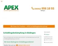 Bild Webseite APEX Büdingen