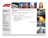 Bild iFW e. K. Fertigungsausalastung - Neukundengewinnung