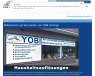 Bild YOBI Umzüge
