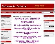 Website Dessous Reizwäsche Lutz Hannover