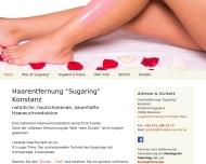 Bild Webseite Haarentfernung Sugaring Kostanz Konstanz