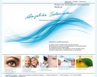 Website Praxis für kosmetisch-ästhetische Medizin