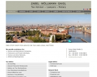 Website Zabel Möllmann Gaigl
