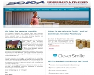 Website SOWA Immobilien & Finanzen Inh. Sonja Walter
